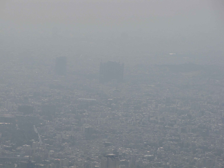 هوای آلوده تهران